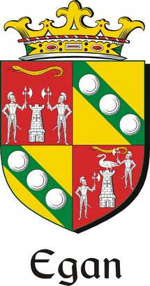 Thumbnail Egan Family Crest / Irish Coat of Arms Image Download