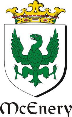 Thumbnail Enery-Mc Family Crest / Irish Coat of Arms Image Download