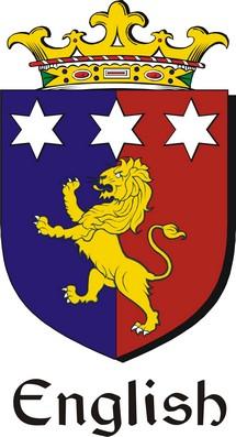 Thumbnail English-2 Family Crest / Irish Coat of Arms Image Download
