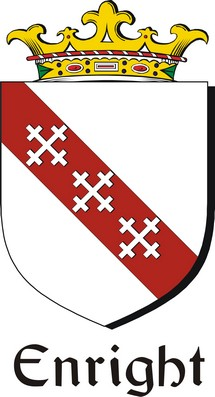 Thumbnail Enright Family Crest / Irish Coat of Arms Image Download