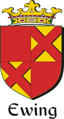 Thumbnail Ewing Family Crest / Irish Coat of Arms Image Download