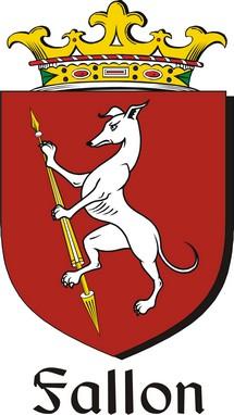 Thumbnail Fallon Family Crest / Irish Coat of Arms Image Download