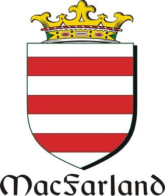 Thumbnail Farland-Mac Family Crest / Irish Coat of Arms Image Download