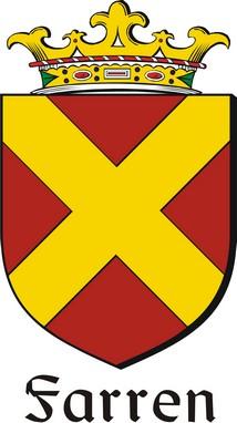 Thumbnail Farren Family Crest / Irish Coat of Arms Image Download