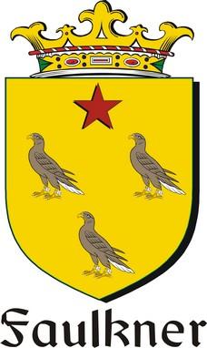 Thumbnail Faulkner Family Crest / Irish Coat of Arms Image Download