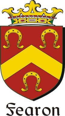 Thumbnail Fearon-2 Family Crest / Irish Coat of Arms Image Download