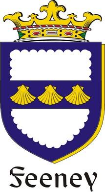 Thumbnail Feeney Family Crest / Irish Coat of Arms Image Download