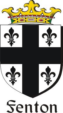 Thumbnail Fenton-2 Family Crest / Irish Coat of Arms Image Download