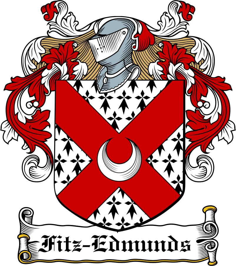 Thumbnail Fitz-Edmunds Family Crest / Irish Coat of Arms Image Download