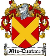 Thumbnail Fitz-Eustace Family Crest / Irish Coat of Arms Image Download