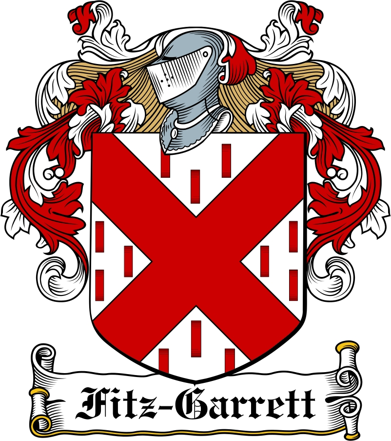 Thumbnail Fitz-Garrett Family Crest / Irish Coat of Arms Image Download