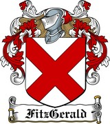 Thumbnail Fitz-Gerald Family Crest / Irish Coat of Arms Image Download