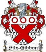 Thumbnail Fitz-Gibbon Family Crest / Irish Coat of Arms Image Download