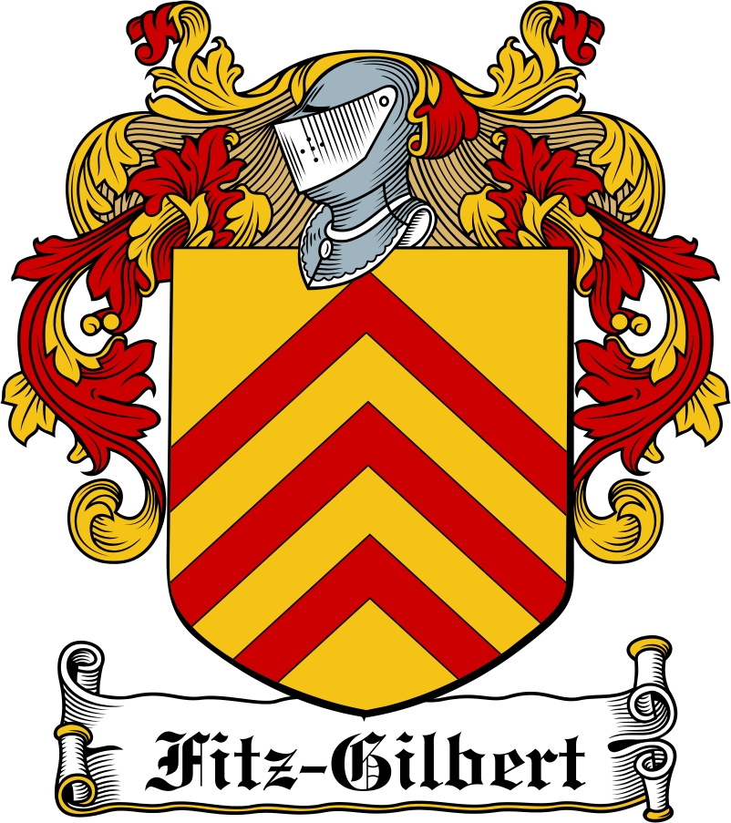 Thumbnail Fitz-Gilbert Family Crest / Irish Coat of Arms Image Download