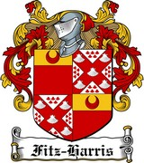Thumbnail Fitz-Harris Family Crest / Irish Coat of Arms Image Download