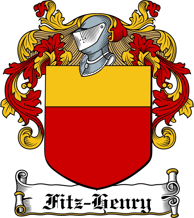 Thumbnail Fitz-Henry Family Crest / Irish Coat of Arms Image Download
