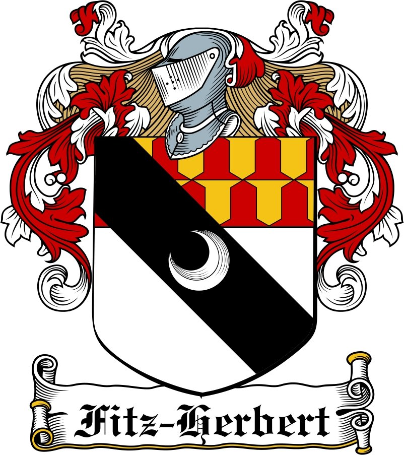 Thumbnail Fitz-Herbert Family Crest / Irish Coat of Arms Image Download