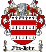 Thumbnail Fitz-John Family Crest / Irish Coat of Arms Image Download