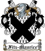 Thumbnail Fitz-Maurice Family Crest / Irish Coat of Arms Image Download