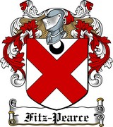 Thumbnail Fitz-Pearce Family Crest / Irish Coat of Arms Image Download