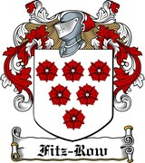 Thumbnail Fitz-Row Family Crest / Irish Coat of Arms Image Download