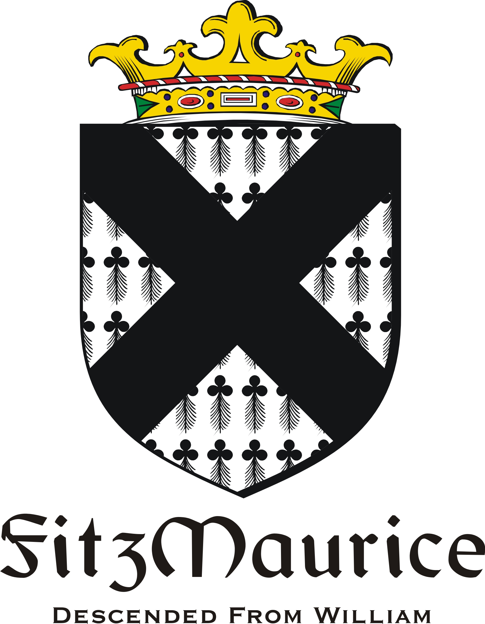 Thumbnail FitzMaurice Family Crest / Irish Coat of Arms Image Download