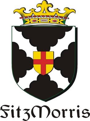 Thumbnail FitzMorris Family Crest / Irish Coat of Arms Image Download