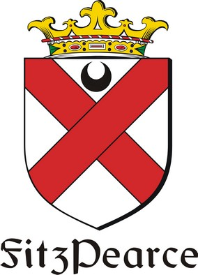 Thumbnail FitzPearce Family Crest / Irish Coat of Arms Image Download