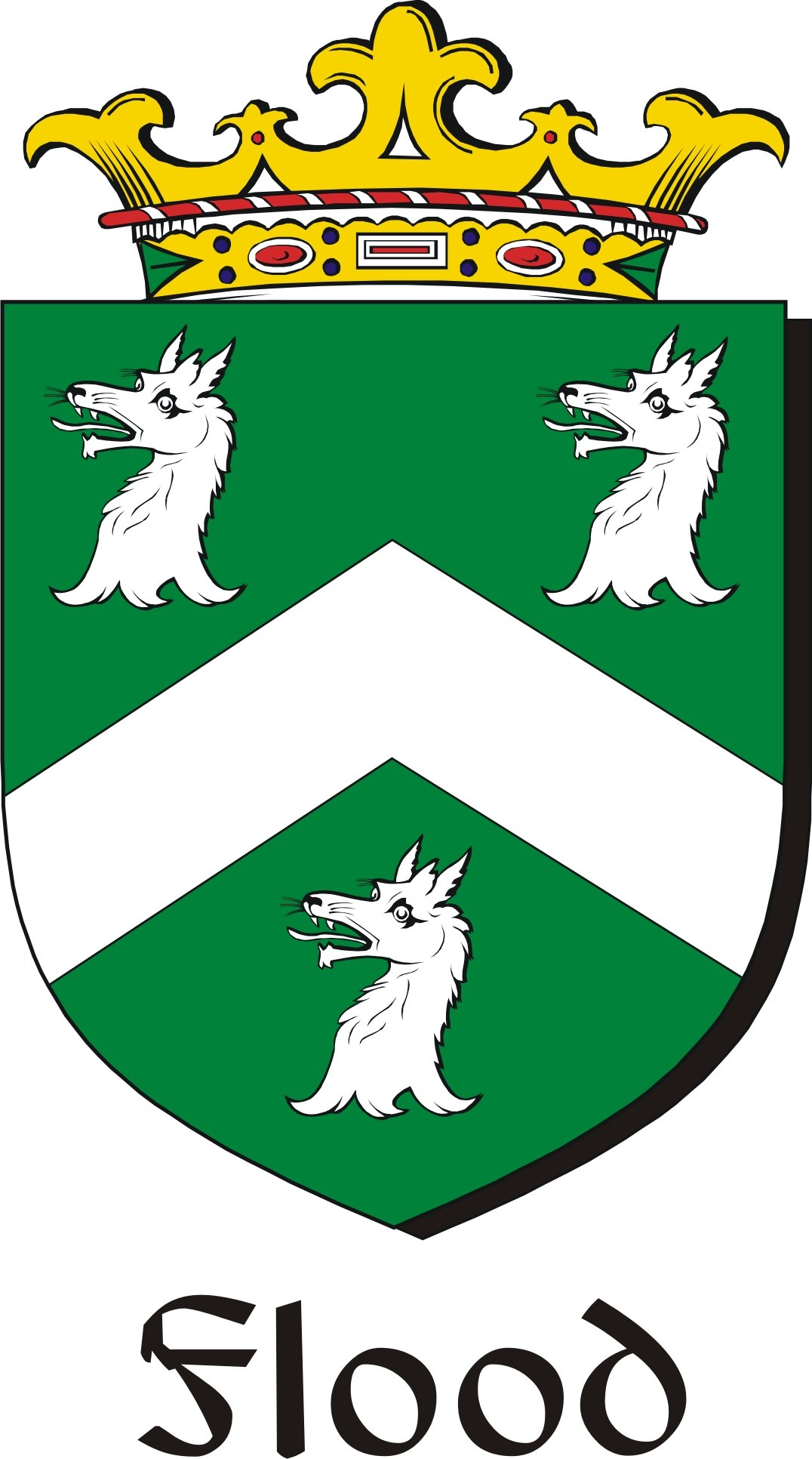 Thumbnail Flood Family Crest / Irish Coat of Arms Image Download