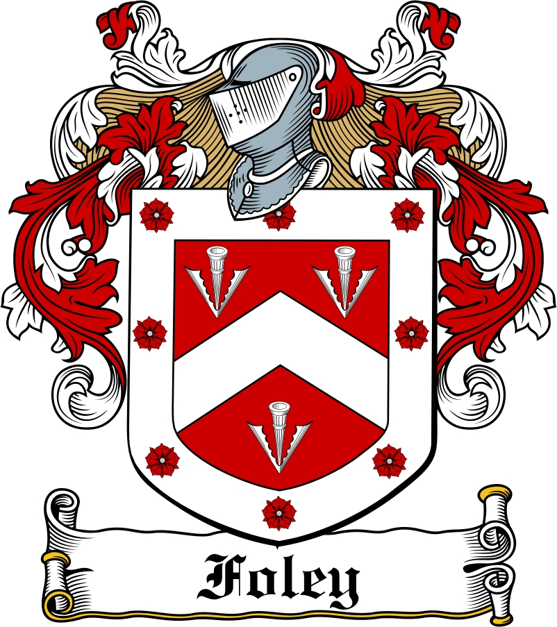 Thumbnail Foley Family Crest / Irish Coat of Arms Image Download