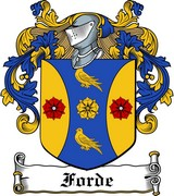 Thumbnail Forde Family Crest / Irish Coat of Arms Image Download