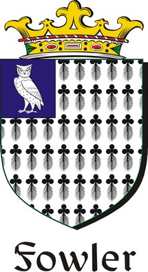 Thumbnail Fowler Family Crest / Irish Coat of Arms Image Download