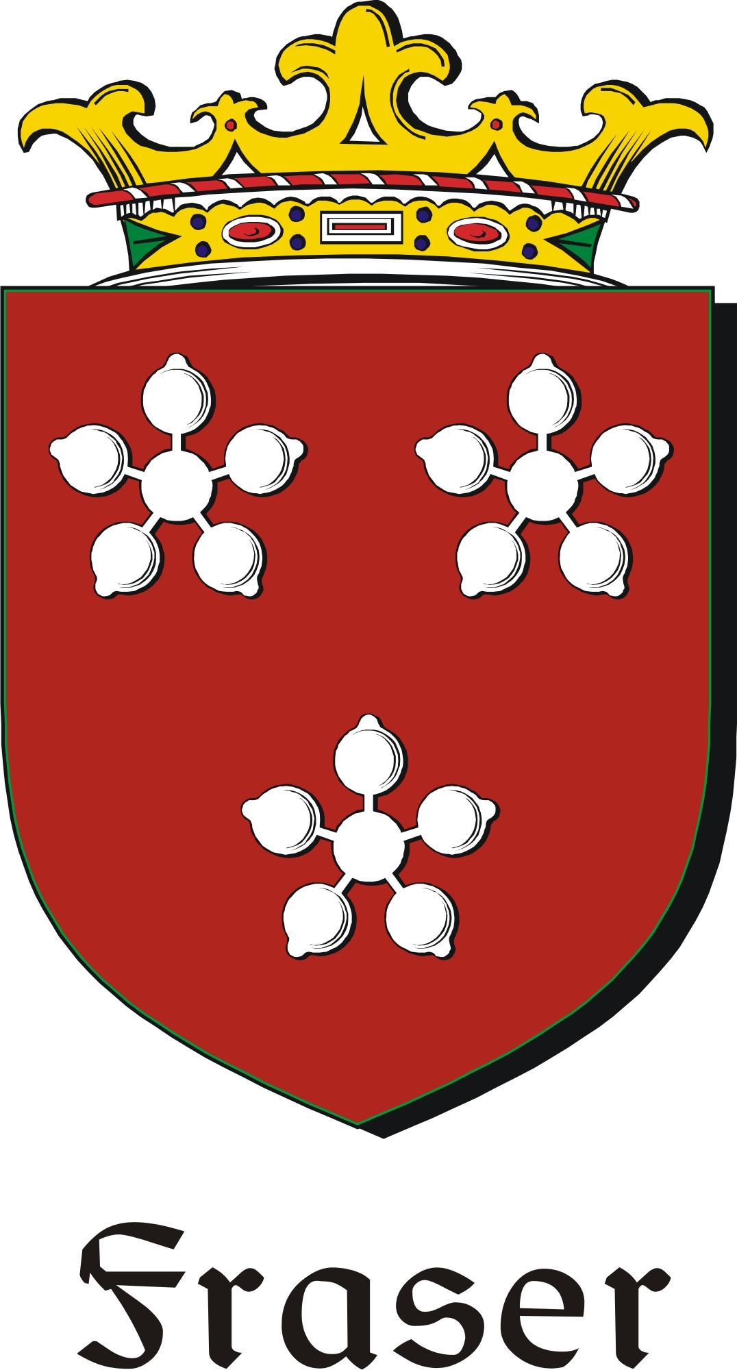 Thumbnail Fraser Family Crest / Irish Coat of Arms Image Download