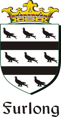 Thumbnail Furlong Family Crest / Irish Coat of Arms Image Download