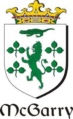 Thumbnail Garry-Mc Family Crest / Irish Coat of Arms Image Download