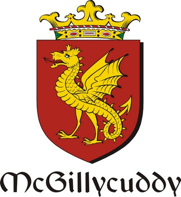 Thumbnail Gillycuddy-Mc Family Crest / Irish Coat of Arms Image Download