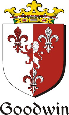 Thumbnail Goodwin Family Crest / Irish Coat of Arms Image Download