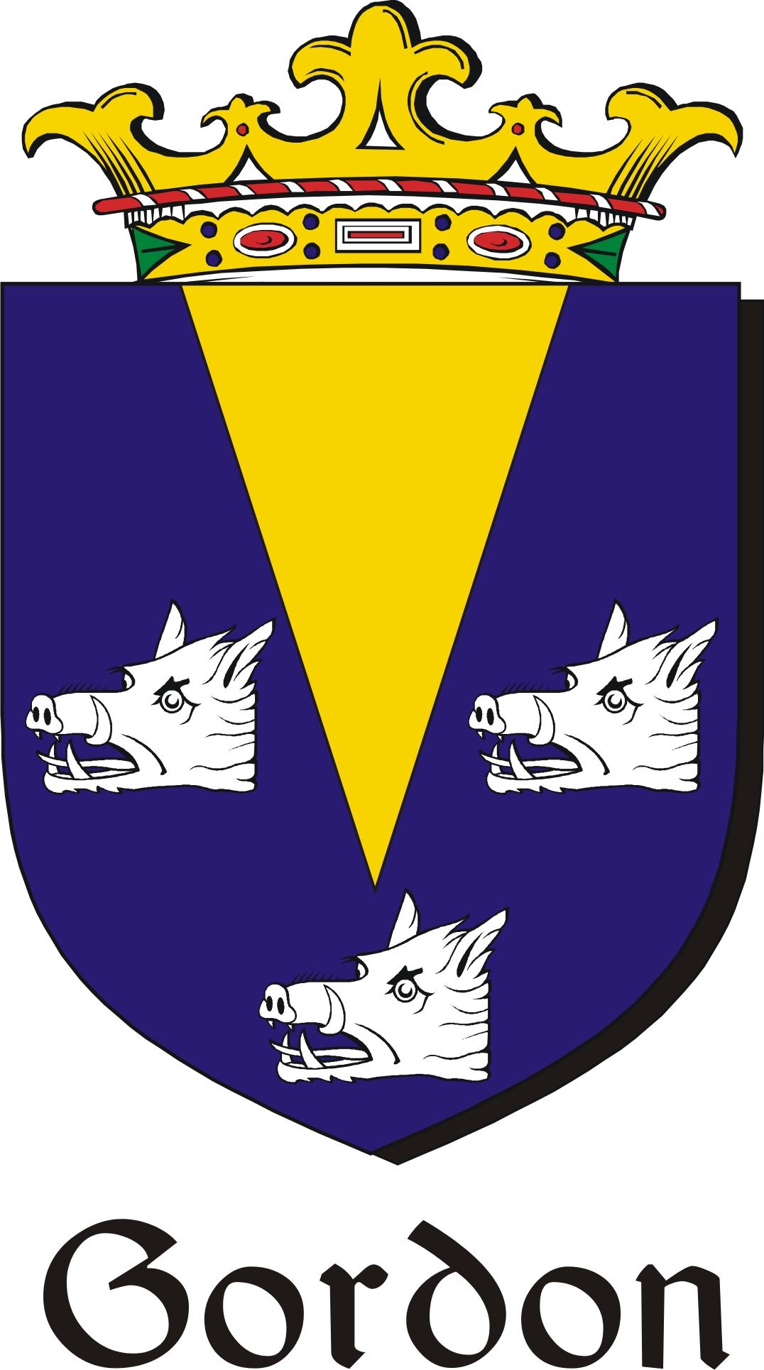 Thumbnail Gordon Family Crest / Irish Coat of Arms Image Download