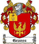 Thumbnail Graves Family Crest / Irish Coat of Arms Image Download