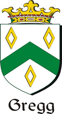 Thumbnail Gregg Family Crest / Irish Coat of Arms Image Download