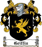 Thumbnail Griffin Family Crest / Irish Coat of Arms Image Download
