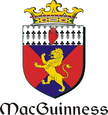 Thumbnail Guinness-Mac Family Crest / Irish Coat of Arms Image Download