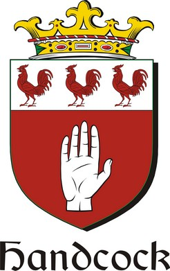 Thumbnail Handcock Family Crest / Irish Coat of Arms Image Download