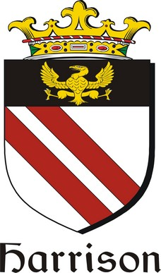 Thumbnail Harrison Family Crest / Irish Coat of Arms Image Download