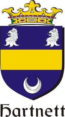 Thumbnail Hartnett Family Crest / Irish Coat of Arms Image Download