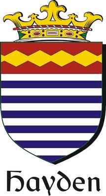 Thumbnail Hayden Family Crest / Irish Coat of Arms Image Download