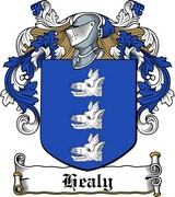 Thumbnail Healy Family Crest / Irish Coat of Arms Image Download