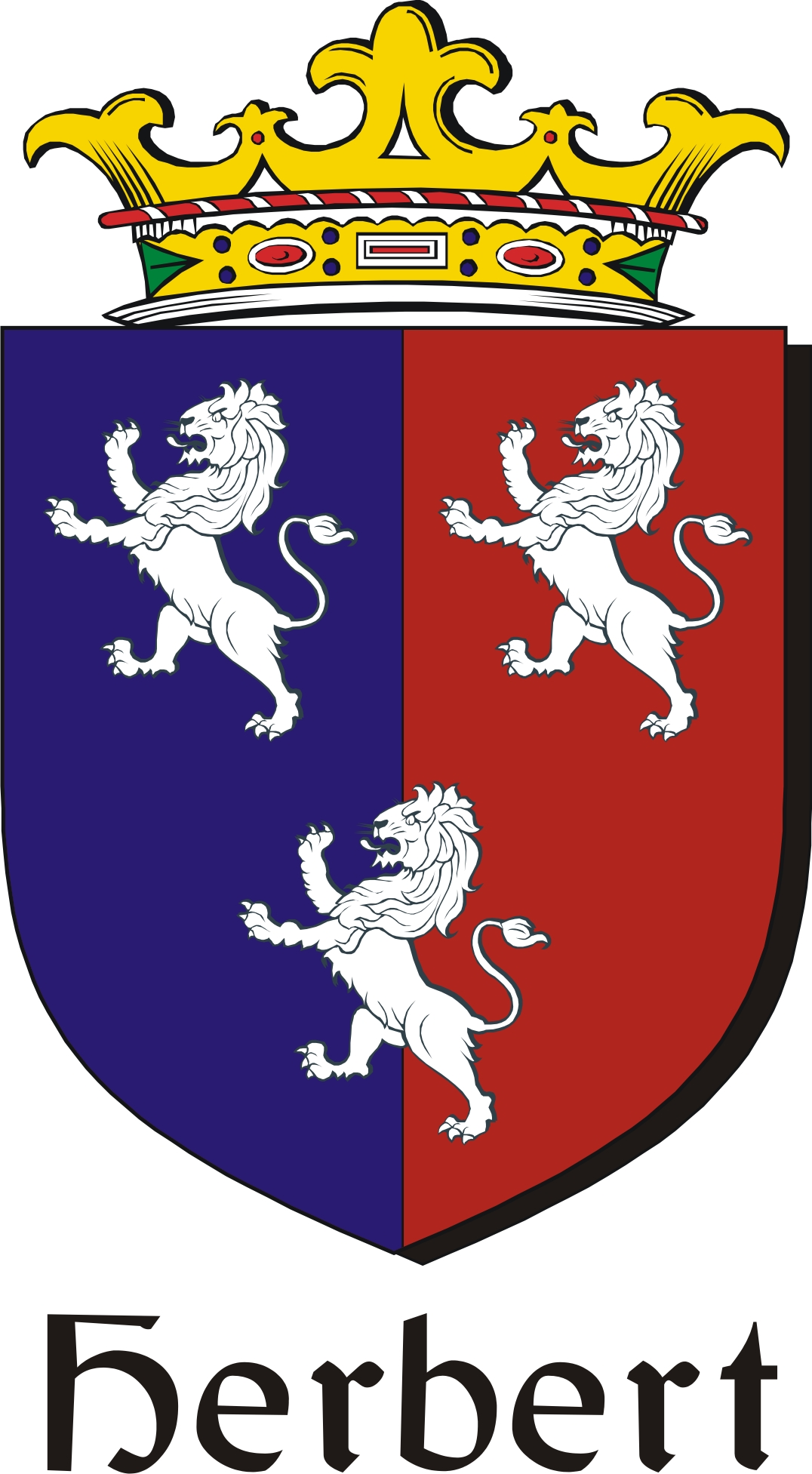 Thumbnail Herbert Family Crest / Irish Coat of Arms Image Download