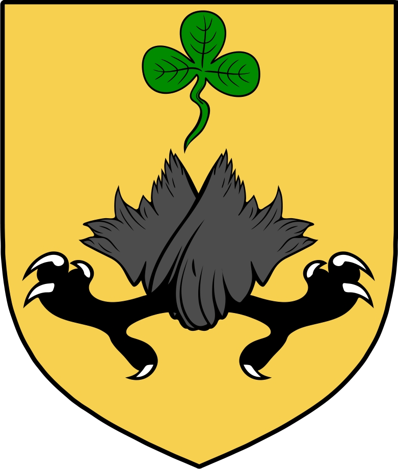 Thumbnail Hickson  Family Crest / Irish Coat of Arms Image Download