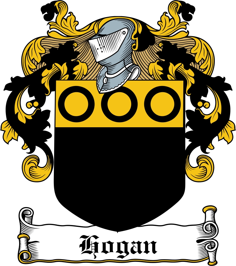 26b25b6233a Hogan Family Crest / Irish Coat of Arms Image Download - Download F...